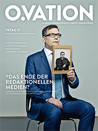 Ovation Magazin Cover