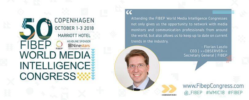 Florian Laszlo Zitat FIBEP 2018 FIBEP World Media Intelligence Congress 2018FIBEP World Media Intelligence Congress 2018
