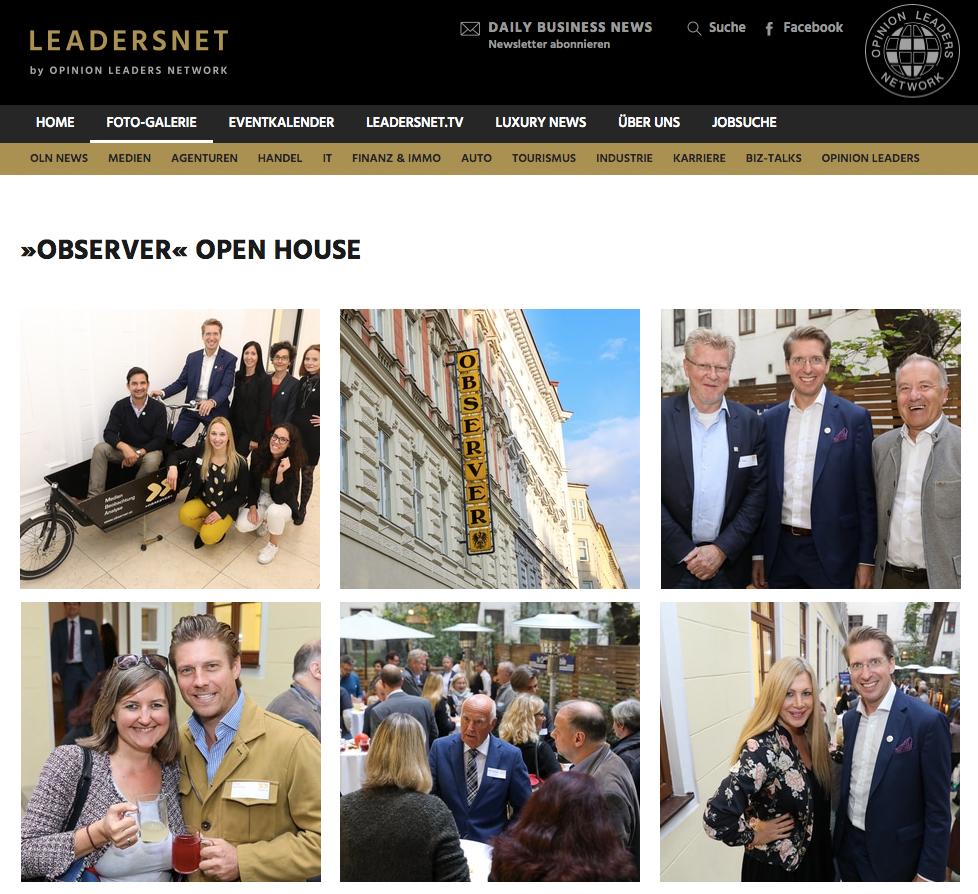 OPEN OBSERVER HOUSE Fotos Leadersnet