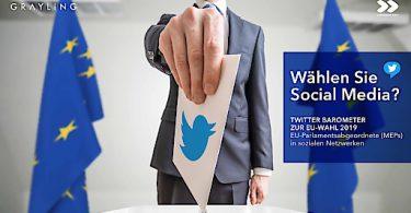 Grayling OBSERVER Twitter Barometer zu EU Wahl