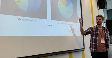 Tech Day Florian Grabner-Zebedin hät einen Vortrag