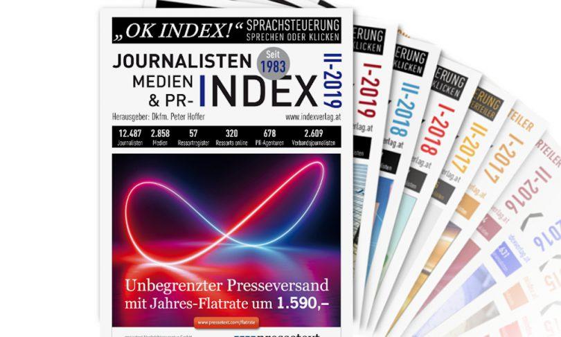 Journalisten-, Medien- & PR-Index