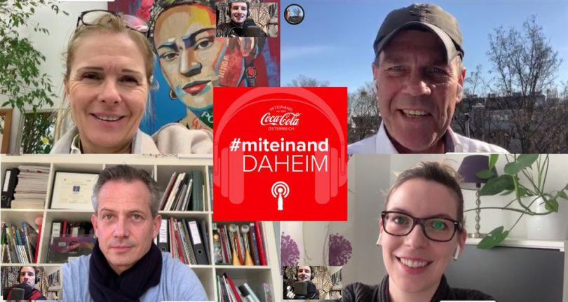 Coca-Cola Podcasts #miteinand daheim
