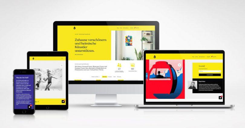 Art Aid hilft Künstlern Online-Store für Kunst Identity Lab startet mit Art Aid einen Onlineshop für lokale Künstler