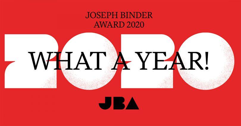 Joseph Binder Award What a year!