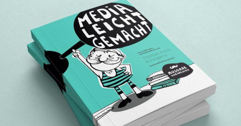 """Handbuch """"Media leicht gemacht"""" von zurgams und Thomas Koch"""