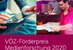 VÖZ-Förderpreis Medienforschung 2020
