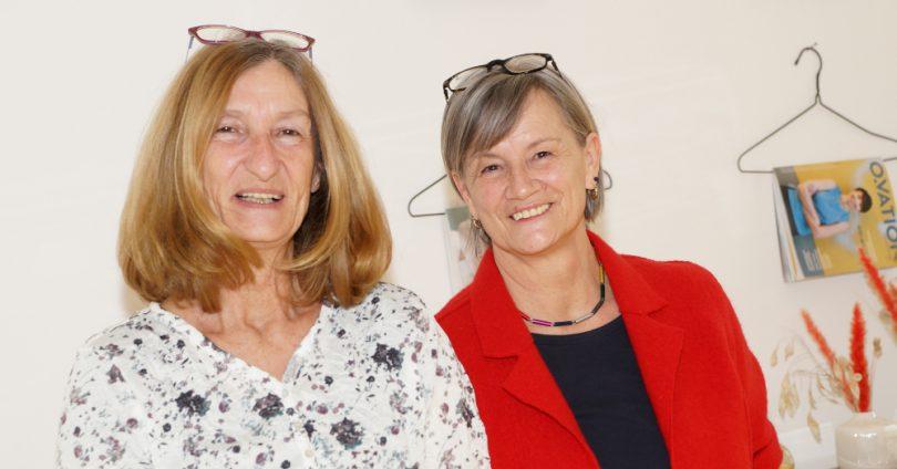 OBSERVER Mitarbeiter gehen in Ruhestand (v.l.n.r. Grete Feitsch, Irmgard Olejak)