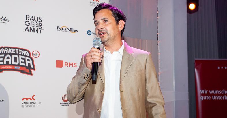 Simon Gebauer @Marketing Leader Award 2020
